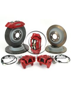 JCW Brembo Full Brake Kit - R55/R56/R57