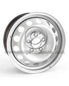 MINI Countryman R60 Steel Wheel - Silver - 16'' x 6.5, each