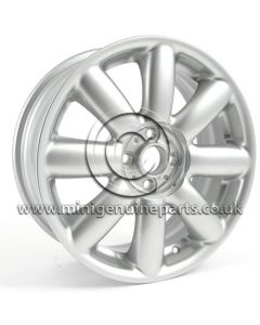 MINI R104 Silver Crown Spoke wheel 7x17, each