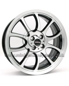 JCW R105 Burnished face with Black inner spokes - 18 x 7 wheel only