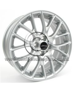 MINI R112 Silver wheel - 17 x 7 wheel only