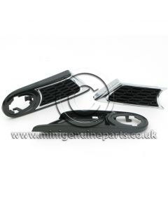JCW Side Scuttle Kit - includes carriers - R55/R56/R57