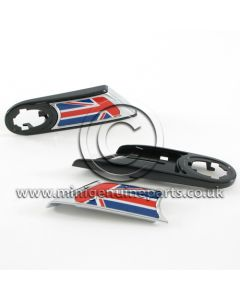 Side Scuttle Kit - Union Jack - includes carriers