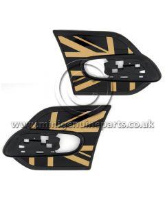 MINI Gold Jack Side Scuttle Trim Set - F55/F56