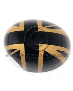 MINI Gold Jack Wing Mirror Cover LH RHD ONLY - F54/F55/F56