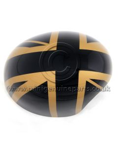 MINI Gold Jack Wing Mirror Cover RH RHD ONLY - F54/F55/F56