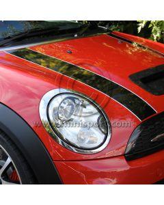 Bonnet Stripe - Black COOPER D/S - LH - R55/R56/R57