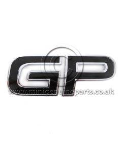 MINI GP Boot Badge