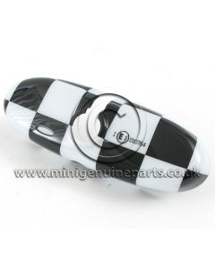 Interior Mirror Cover - Chequered - R55/R56/R57/R60