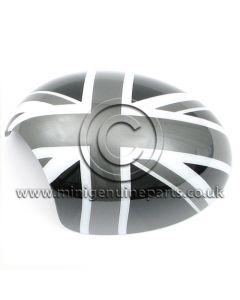 Black Jack Mirror Cover - LH - R55/R56/R57/R60