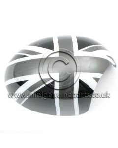 Black Jack Mirror Cover - RH - R55/R56/R57/R60