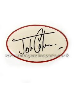 WC50 John Cooper Signature Dash Decal