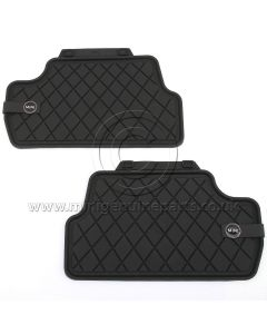 Rear Rubber Floor Mats - F56
