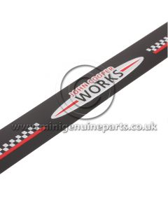 JCW Door Sill Entry Trim with Adhesive Strip F56 only