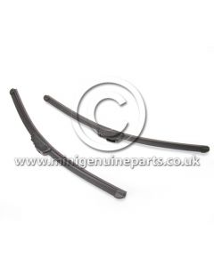 Front Wiper Blade Set - Aero Flat Style - RHD - all models 2001-2011