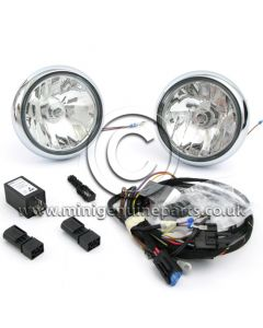 Chrome Spot Light Kit - R55/R56/R57/R60/F56