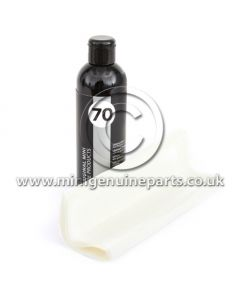 Leather Care Set with UV Protection - 250ml - Inc 3 sponges and 5 cloths - Original MINI Car Care Products