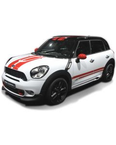 R60 Countryman Twin Stripes for Bonnet / Roof / Boot Kit
