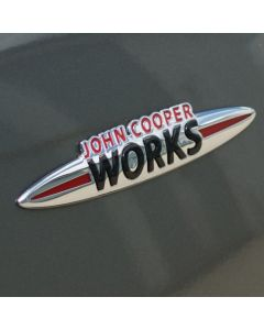 JCW Rear Boot Badge - R55/R56/R57/R60