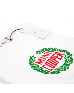 MINI Cooper Laurel T Shirt - White