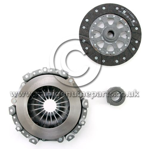 Clutch Drive Plate, Diaphragm and Release Bearing Kit - 215mm - Cooper S R53 upto July 2004