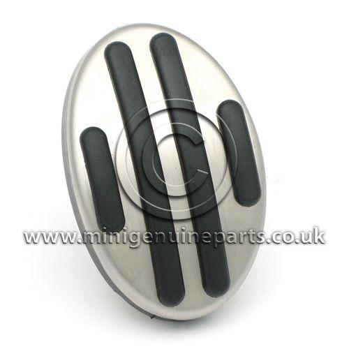 Brake/Clutch Pedal - Stainless Steel - R55/R56/R57/R60/F56