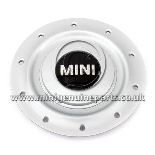 MINI Wheel Centre Cap for Silver R83 5 Spoke Wheel