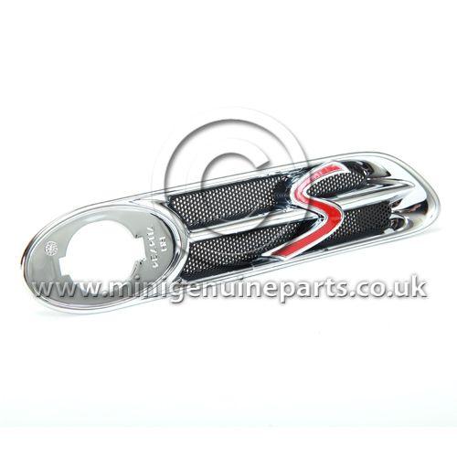 R53 Cooper S Chrome Side Scuttle - Right