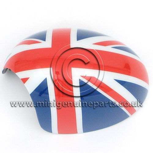 Union Jack Mirror Cover - LH - R55/R56/R57/R60