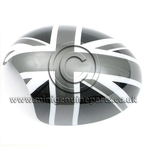 Black Jack Mirror Cover - LH - R55/R56/R57/R60