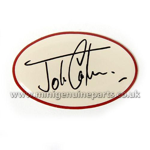 WC50 John Cooper Signature Dash Decal