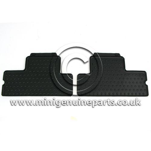 Rubber Rear Floor Mats (2) - R56
