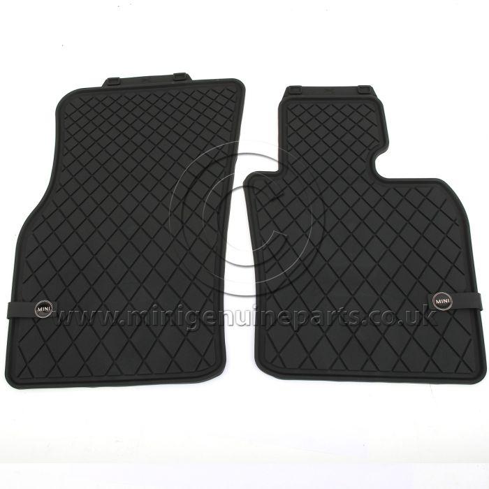 Front Rubber Floor Mats - F56 RHD (UK)