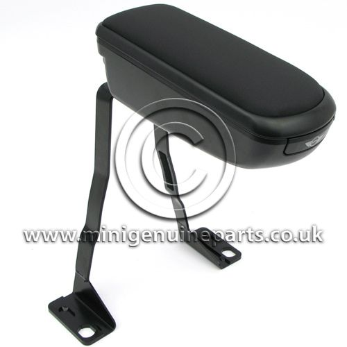 Leather Front Arm Rest with storage compartment - R55/R56/R57