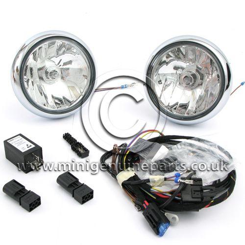 Chrome Spot Light Kit - R55/R56/R57/R60/F56