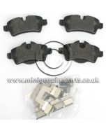 Rear Brake Pads - all models for 259mm x 10mm Discs - R55/R56/R57