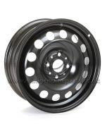 MINI Steel Wheel - Black - 15'' x 5.5, each
