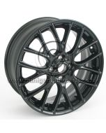 MINI R112 Gloss Black wheel - 17 x 7 wheel only