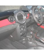 JCW Black Leather Top Dash Pad - R55 / R56 / R57