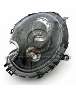 Black Xenon Headlamp Unit - Left Side - R55/R56 - March 2010 on only