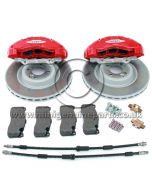 JCW GP2 Front 6 Piston Brake Kit - R56
